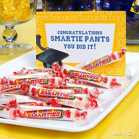 High School Graduation Decoration Ideas | this idea graduation supplies in blue graduation supplies in yellow