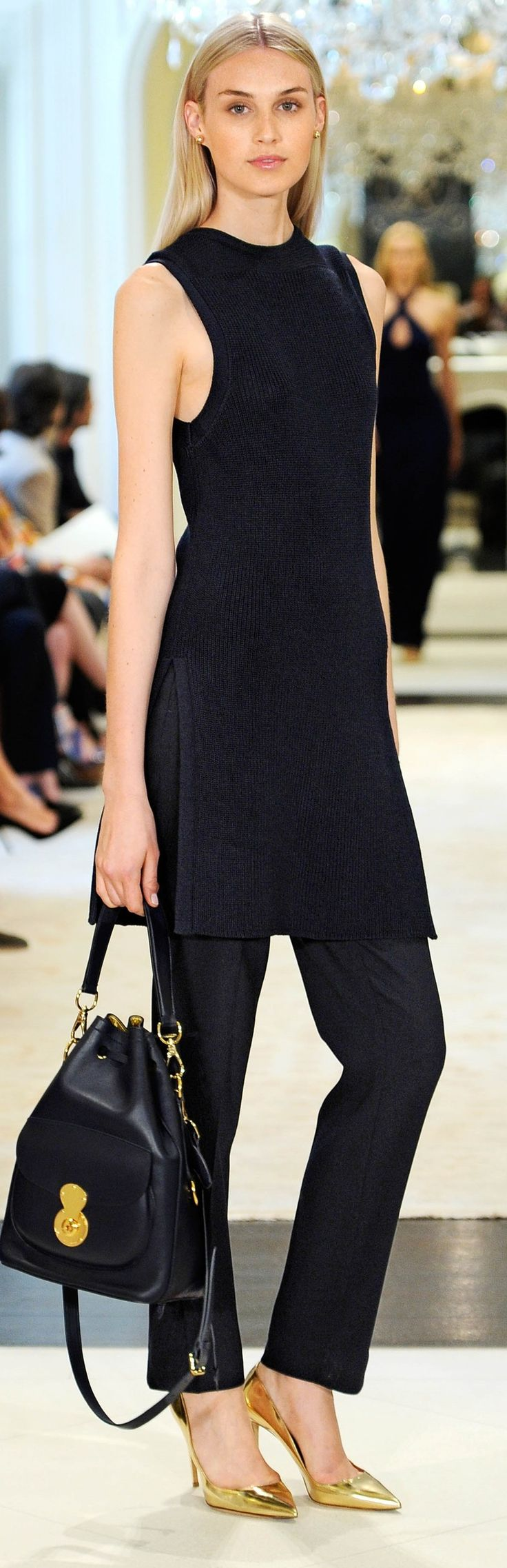 Ralph Lauren Resort 2015 / Pre-Spring 2015 love the long and monocromatic look