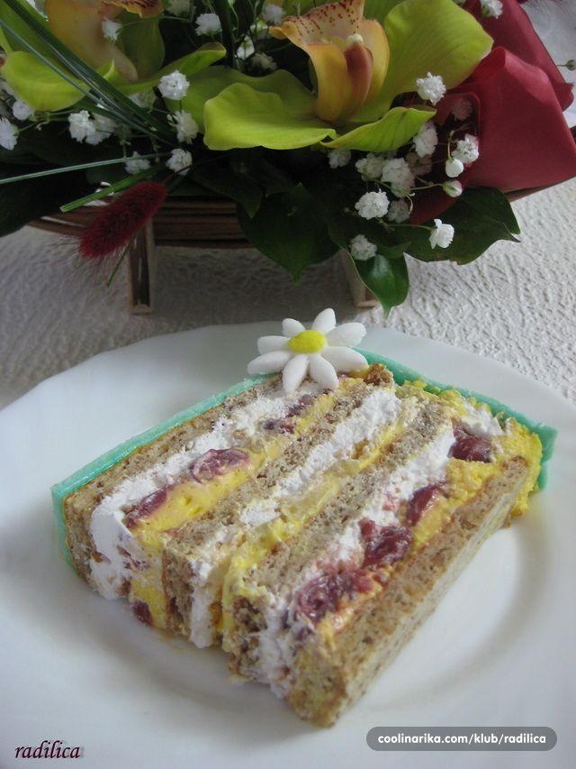 Sad je meni jasno zašto je ova torta, 2009. godine na Etno sajmu u Bogradu, osvojila drugu nagradu za ukus!!! Ova torta spada u top 10 torti ikada probanih i mislim da se upravo popela na prvo mesto Torta je praaavo savršenstvo! Hvala što si sa nama podelila ovaj recept!!! I moja mama Te puno pozdravlja P.S. Našla sam Stefaneli i lično joj se zahvalila KLIK za recept!