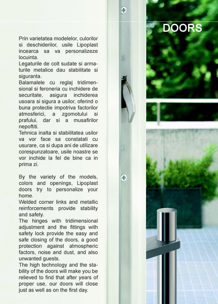 USI LIPOPLAST http://www.lipoplast.ro/usi/usi-rezidentiale/