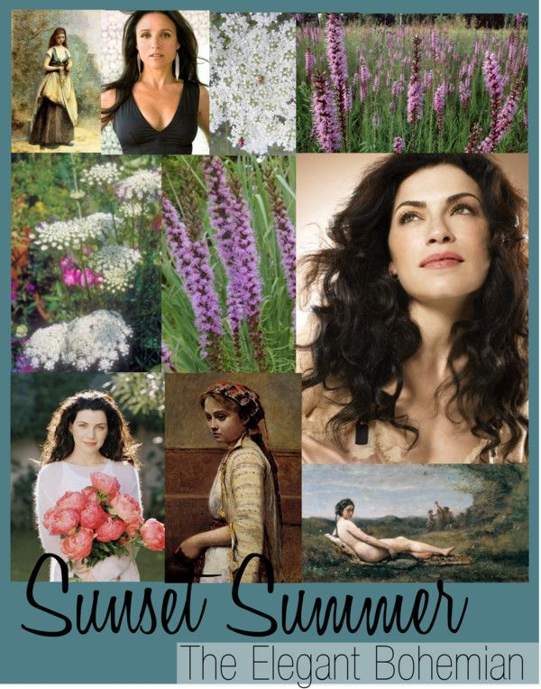 """Zyla Sunset Summer"" by colorazione on Polyvore ~ The Elegant Bohemian archetype"