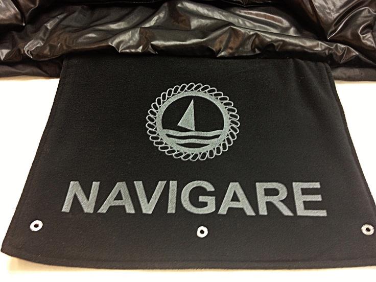 La pattina coprisedile della Navigare Stadium Jacket, il regalo perfetto per l'amante del calcio!