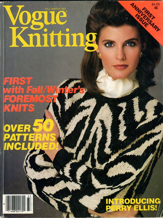 Vogue Knitting International, Fall/Winter 1983, First Anniversary Issue