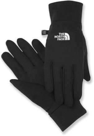 Dry hands on a wet snowboarding day... priceless. The North Face FlashDry™ glove liners add light insulation and do a superb job of managing moisture when you're working up a sweat on cold winter days.