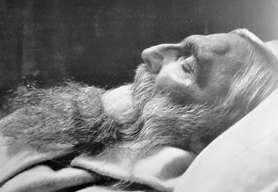Rodin on His Deathbed by Pierre Choumoff