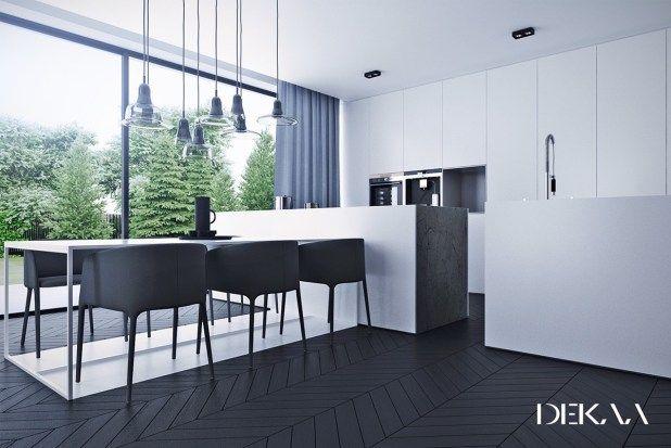 black-chevron-floors-in-kitchen