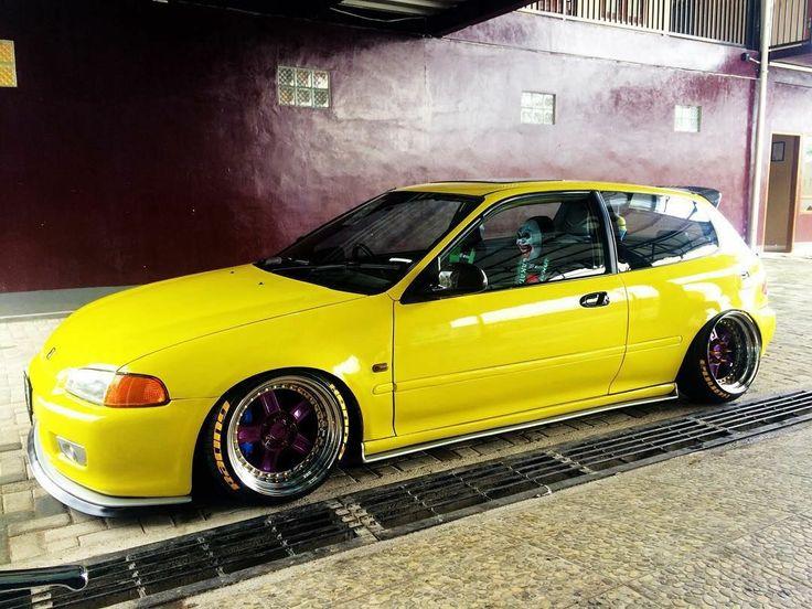 #Honda #Civic_Eg #Slammed #Stance #JDM #Modified