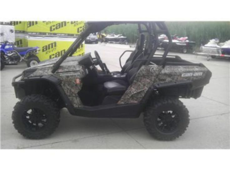 Used 2012 #Can_Am Commander 1000 xt #Work_Utility atv in Evansville @ http://www.usedatvsworld.com/contact-us/