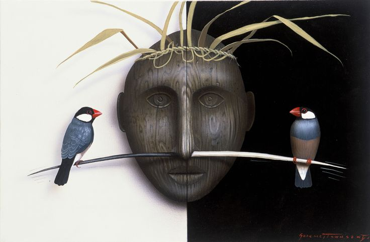 rice sparrow and harvest mask