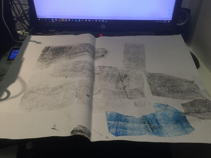 Textured paper samples (Week 2)