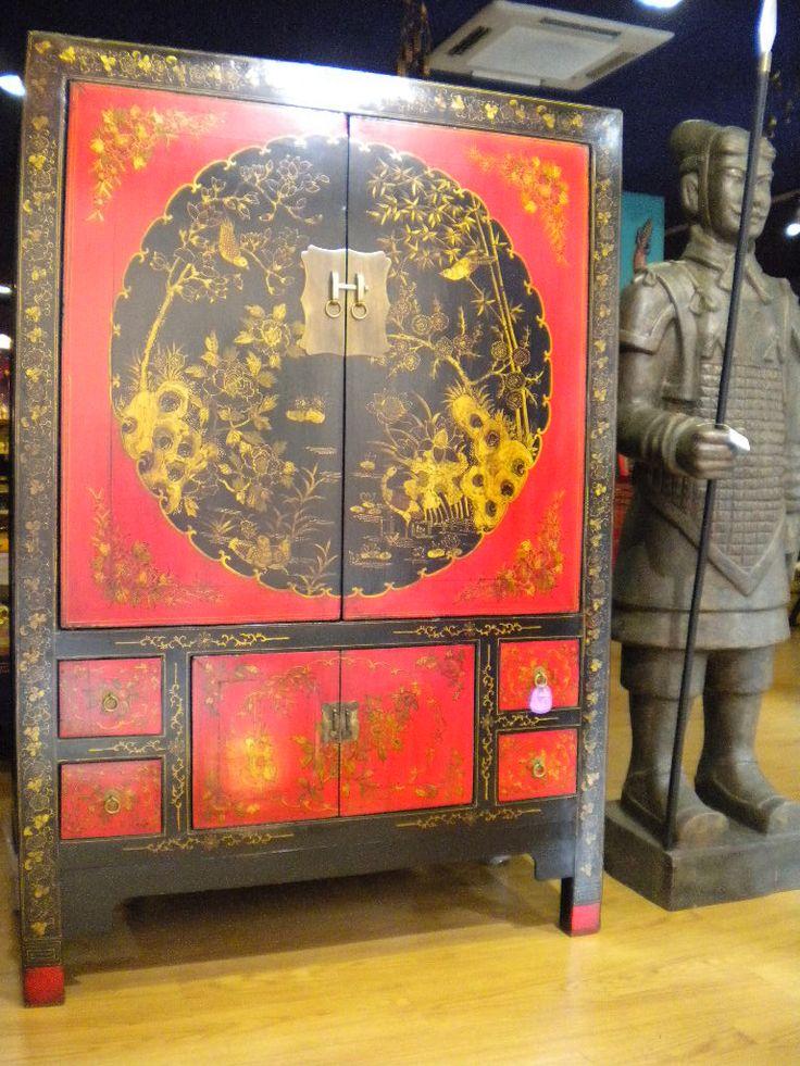 Armario de novia tradicionalmente usado para la dote de - Muebles de estilo oriental ...