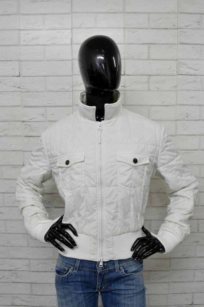pretty nice eb879 fe83b Piumino Donna ARMANI JEANS Taglia Size 50 Bianco Giacca ...