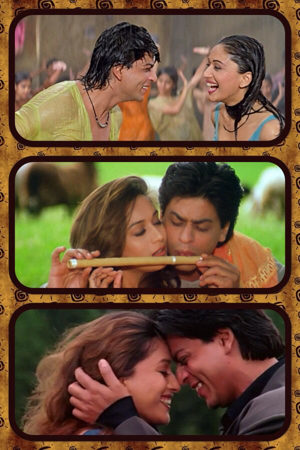 Shah Rukh Khan and Madhuri Dixit - Dil To Pagal Hai (1997)
