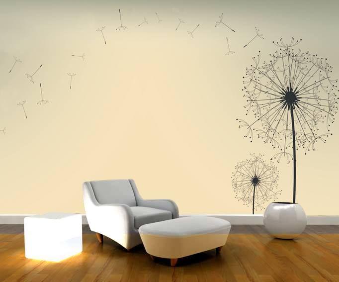 Duvarların ruhunu yansıtır. Özgürlük stili.