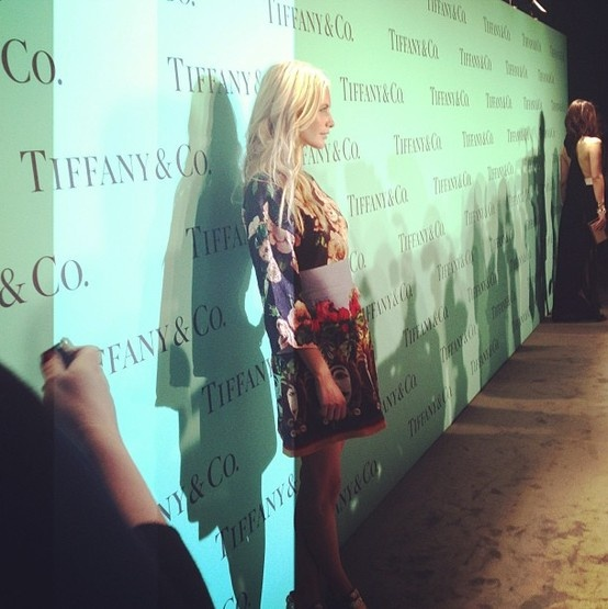 Poppy Delevingne at the Tiffany's Blue Book Ball for InStyle