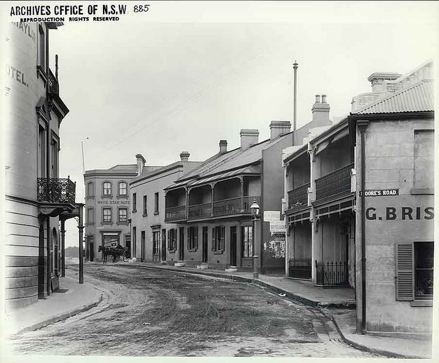 1.Bettington St leading from Argyle St to Millman St (formerly Crown Rd). Palisade Hotel (left) and White Star Hotel. This is the real Millers point. . | Flickr - Photo Sharing!