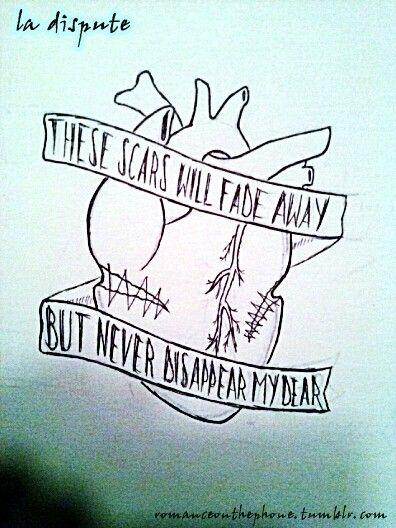 La dispute tattoo | Tattoos!! | Pinterest | La dispute ... Bullet Band Tattoo