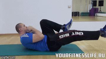 Упражнения для пресса   yourfitnesslife.ru