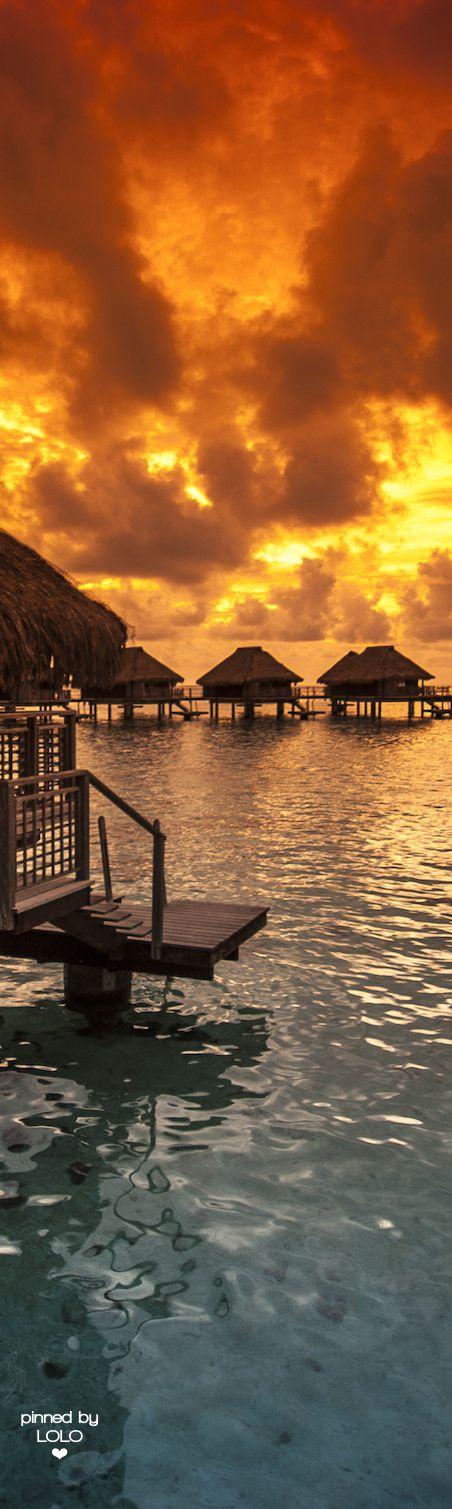 Bora Bora Sunset   LOLO❤