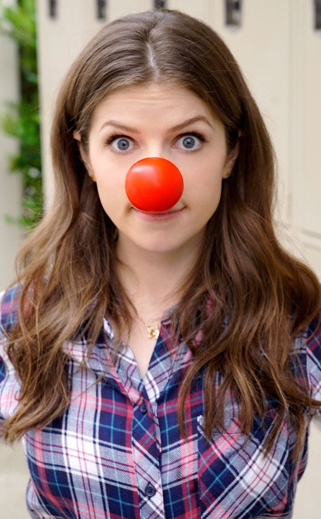 Anna Kendrick from Stars Celebrate Red Nose Day 2016 | E! Online