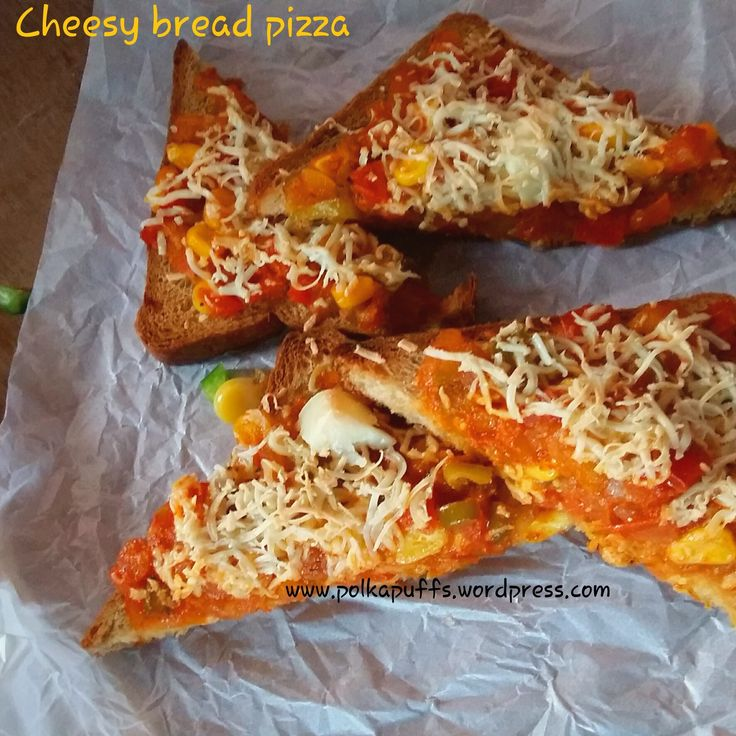 Bread Pizza Recipe/ Instant Pizza | Bread Pizza, Pizza and Breads