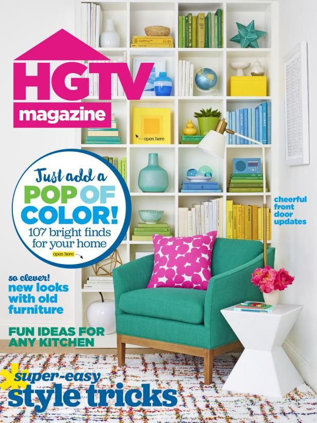 The online content from the May 2016 issue of HGTV Magazine.