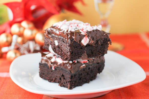 Chocolate Peppermint Brownies. A Chocolate lover's dream.