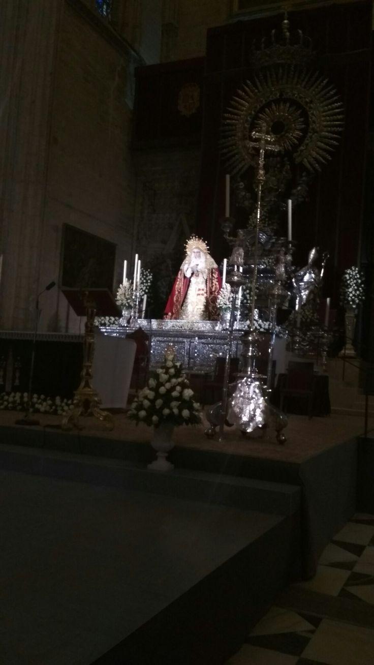Virgen de la Salud hermandad de San Gonzalo Sevilla