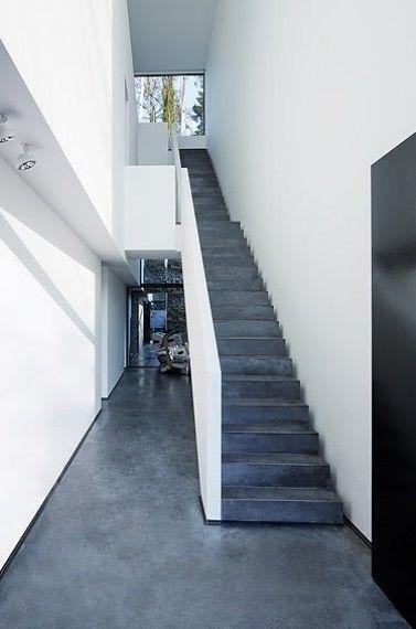 12 Casa minimalista Bruno Erpicum en Bélgica