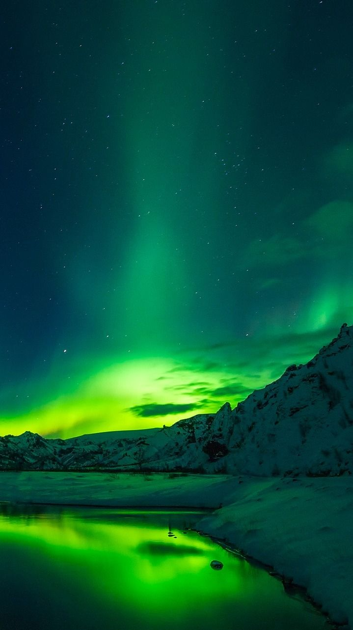20 Photos that Prove Iceland is the land of Ice and Fire -  The Northern Lights in Iceland – By TPSDave [CC0 Public] via Pixabay More on DrifterPlanet.com