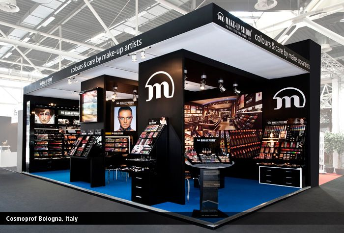 Expo Stands Eyeshadow : Make up studio professional exhibitions