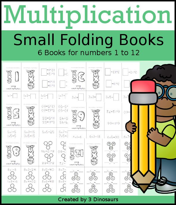Multiplication Small Books Math Activities Preschool Homeschool Math Math Activities For Kids