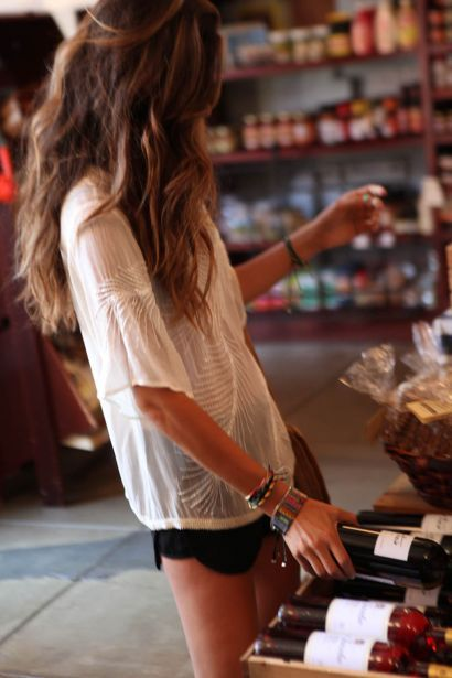 Summer Vacay Attire: Wine, Fashion, Style, Clothes, Outfit, Summer, Beauty, Hair, Shirt
