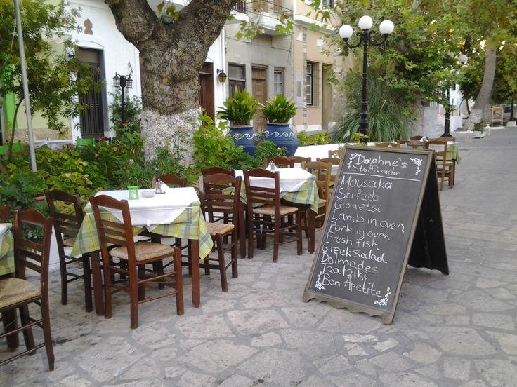 Samos - Pythagorion - squaire