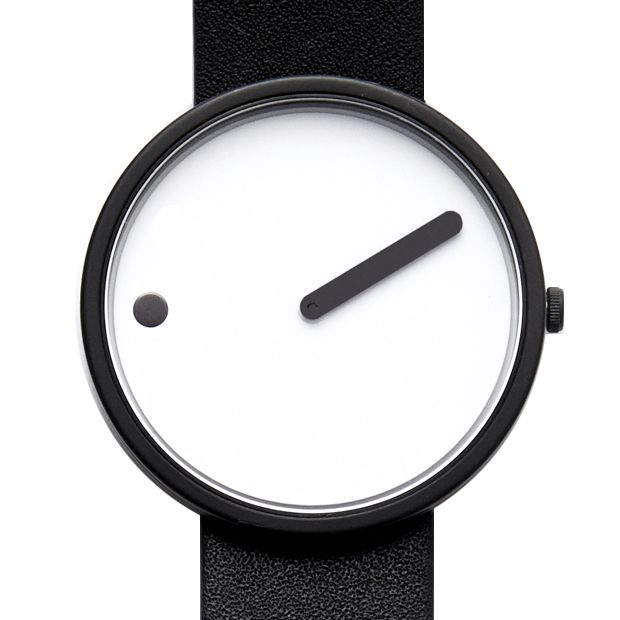 Originally conceived in 1984 by Danish designers Steen Georg Christensen and Erling Andersen, the Picto is an attempt to capture a picture of time.