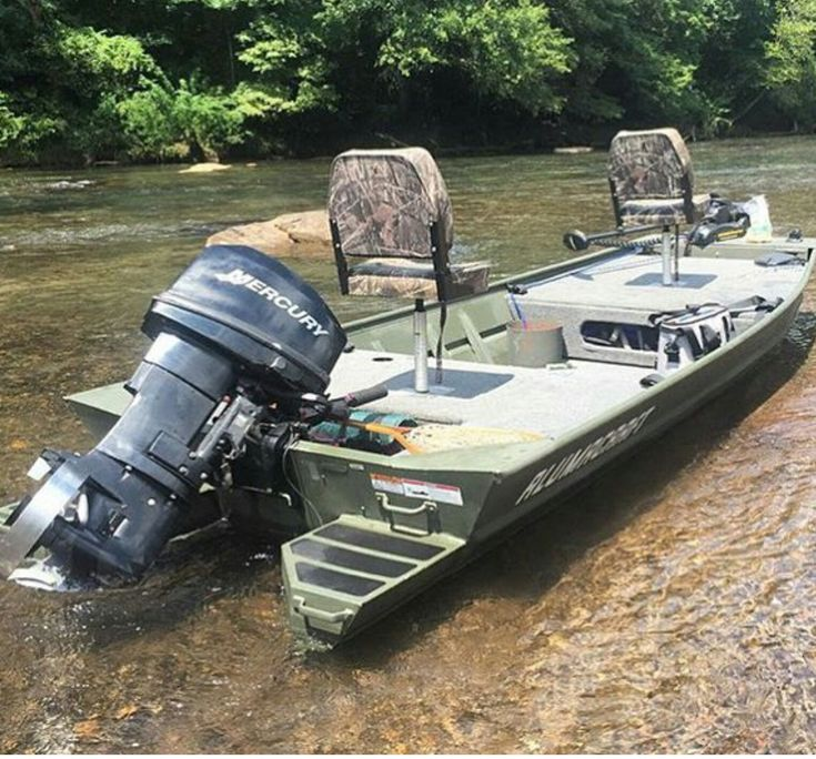 17 best ideas about jon boat on pinterest aluminum boat for Best river fishing boat