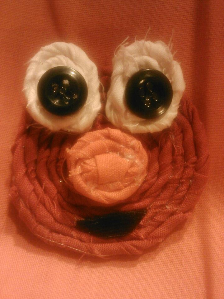 Elmo Bow $8  https://www.facebook.com/pages/Tutu-Cute/171729329580274
