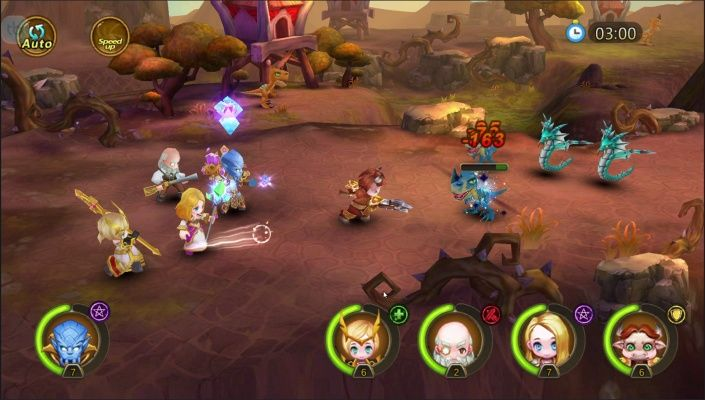 Mini Fantasy is a Android Free-to-play, Strategy Role-Playing RPG, Multiplayer Game featuring REAL TIME Play, stunning retina graphics and highly polished interface.