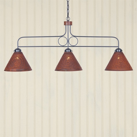 Franklin Large Hanging Light | Primitive Lighting by Irvin's