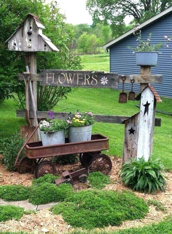 outdoor flower garden ideas best vintage garden decor ideas on