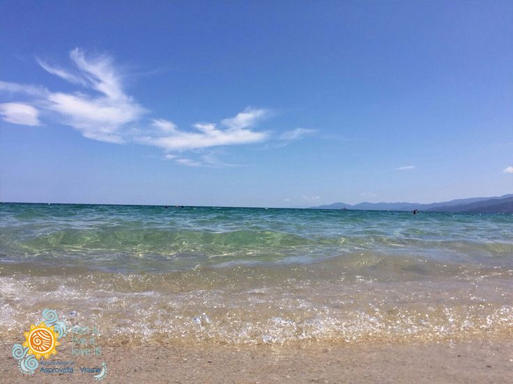 Blue sky !!! Blue Beach !!!   #Asprovalta #Vrasna #Greece #Holidays #Beach #Thessaloniki #Vacation  http://asprovalta-vrasna.gr/
