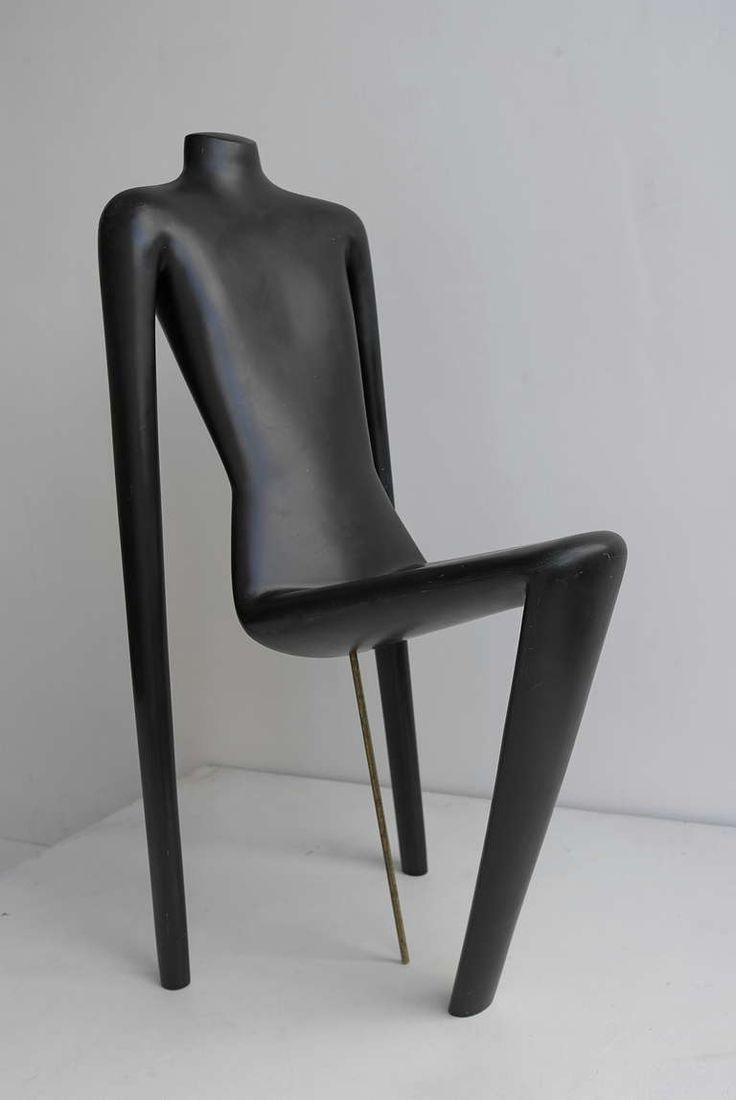 Unique Mannequin Chair,  Switzerland 1970's