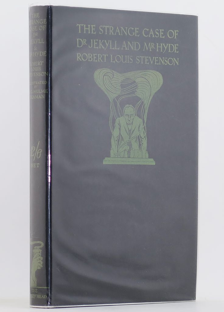 Great ST THUS DELUXE DR JEKYLL u MR HYDE NF F R L Stevenson Beaman Fully Illustr