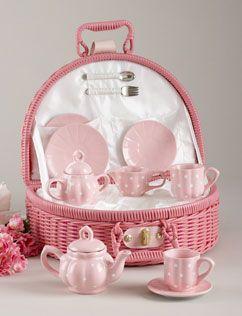 What a sweet little tea set