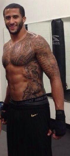 Colin Kaepernick Hella Fine Tattoos