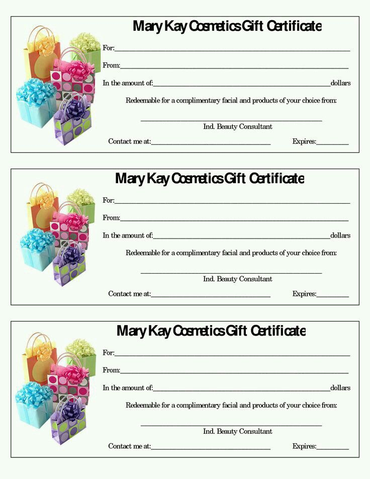 23 best MK Gift Certificates images on Pinterest Gift certificates