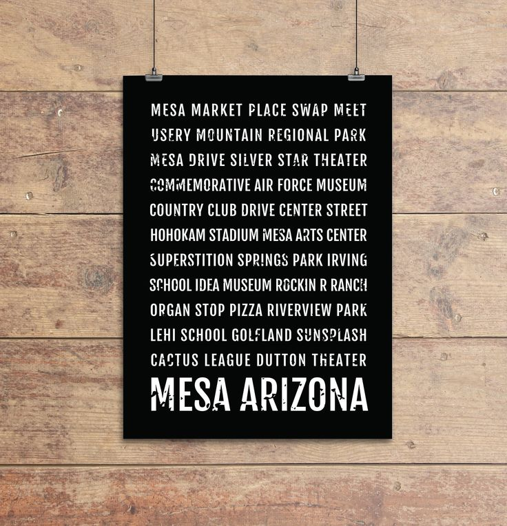 Mesa Arizona Print, Mesa Subway Sign Poster, Arizona Wall Art, Décor, Canvas, Gift, Bus Scroll, Typography, Minimal, Custom, Personalized. This Mesa typography print features neighborhoods and favorite spots in the Mesa Arizona. Available in Black and White, we can also do custom colors at your request. - Modern, clean, colorful design - Made to Order, printed just for you! - Looks great in a dorm, apartment, nursery, or office - Perfect gift for a housewarming gift or to update your style…