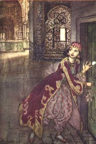 Voici mes deux illustrateurs préférés de contes de fées