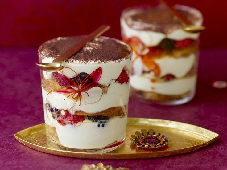 Weihnachtliches Tiramisu | Kalorien: 381 Kcal - Zeit: 30 Min…