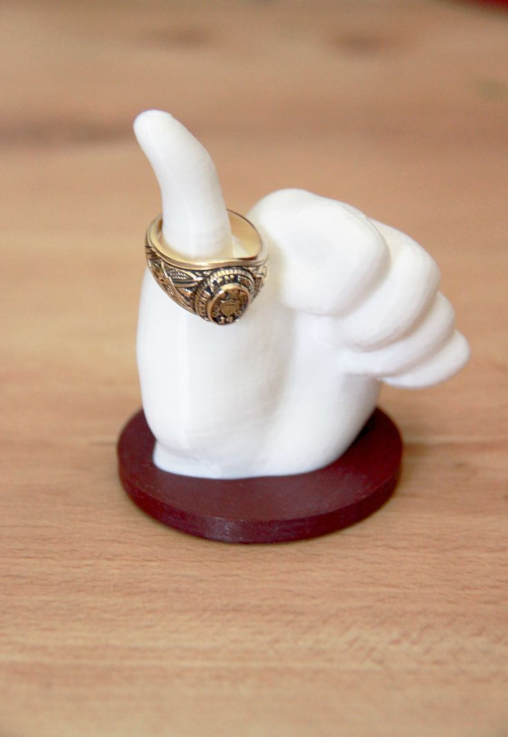 Aggie Ring Holder by AshleyRicketson on Etsy